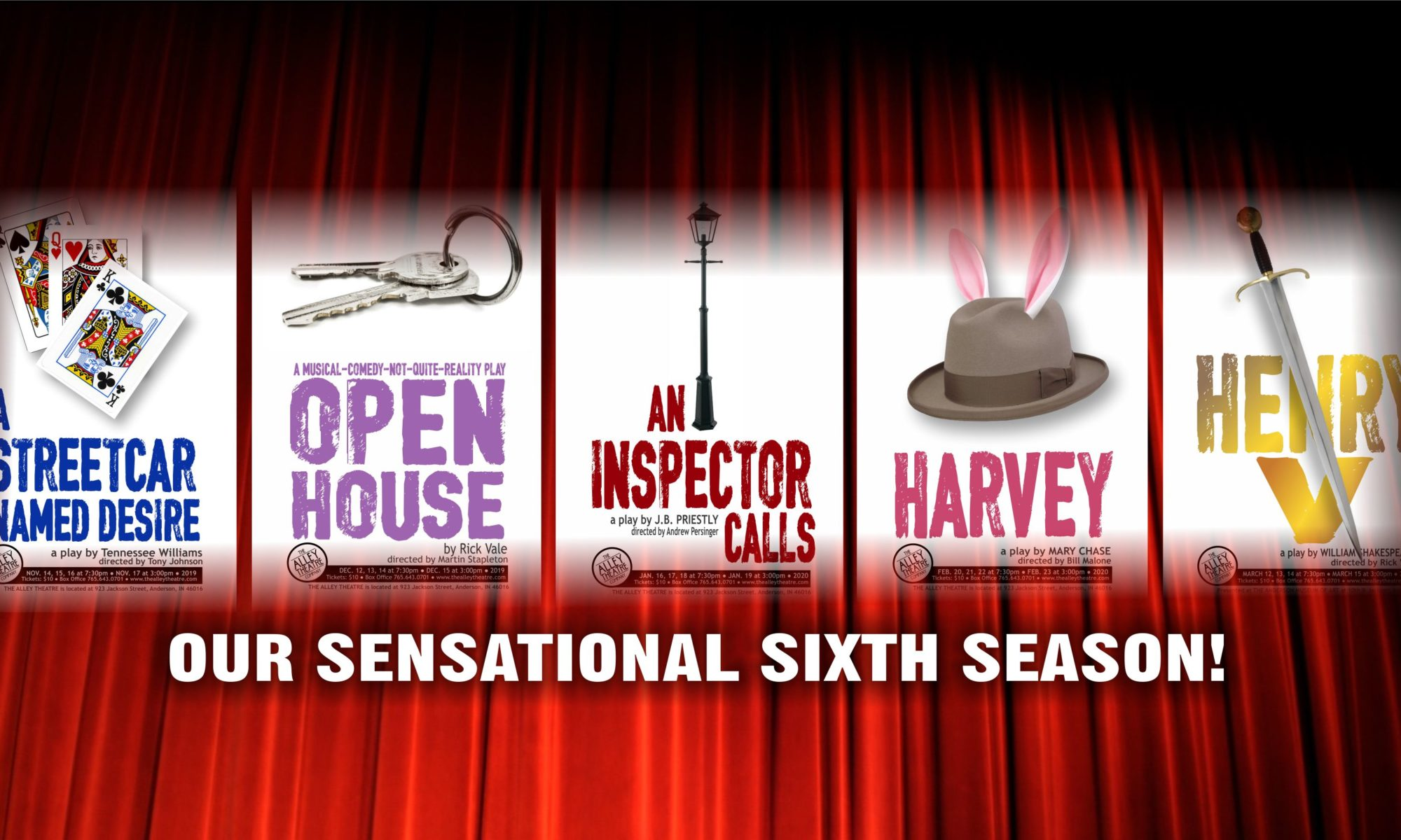 Our Season   The Alley Theatre